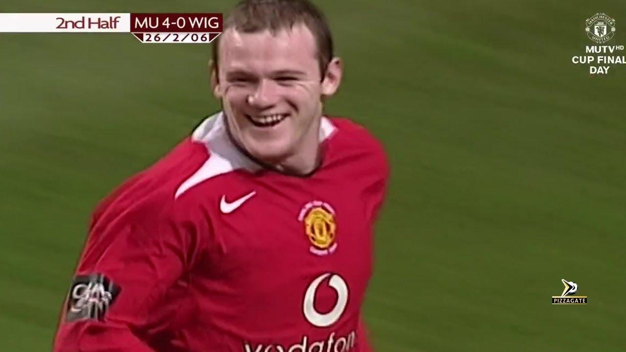 04da71dd4 Manchester United 4-0 Wigan - League Cup Final 2006 - YouTube