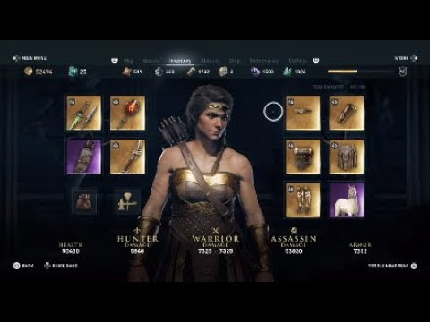 Assassin S Creed Odyssey Amazon Set Pallas The Silencer Fashion S Creed Achievement Youtube