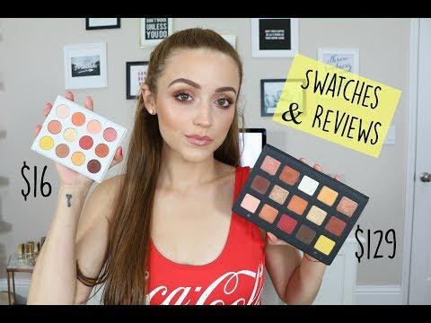 Download Youtube: Natasha Denona Sunset Palette DUPE?? - Colourpop Yes, Please! Palette | Swatch Comparisons