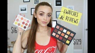 Natasha Denona Sunset Palette DUPE?? - Colourpop Yes, Please! Palette | Swatch Comparisons