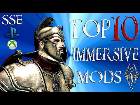 Skyrim Special Edition Top 10 ADDICTING Mods