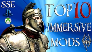 Skyrim Special Edition Top 10 ADDICTING Mods