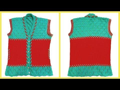 77b0ea156b018 Brand New Design of Ladies Half Jacket Easy Tutorial