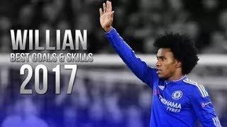 Willian Borges da Silva • Best Skills 2017 • Chelsea FC   HD