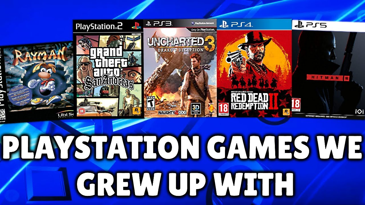 One Second From Every Playstation Game We Grew Up With Ps1 Ps5 Youtube