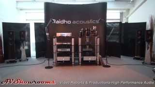 Raidho Loudspeakers, D1 vs  C4.1 meet the designers