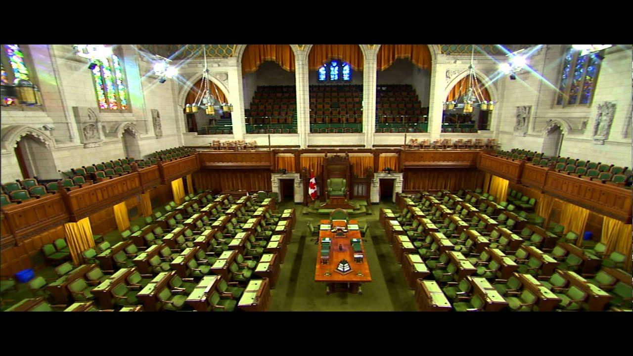 Parlement du Canada  La Chambre des communes  YouTube