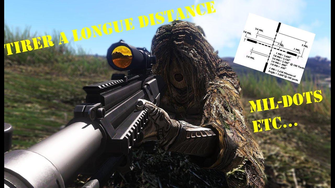 Arma 3  Shoot At Long Range (mildots)