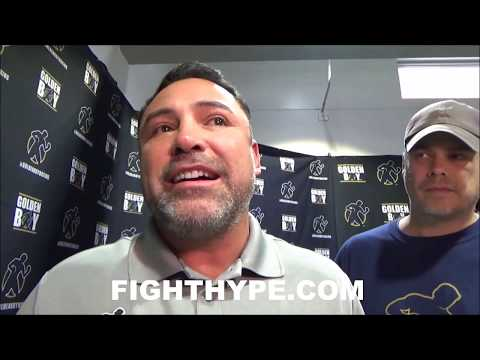 "DE LA HOYA RESPONDS TO MAYWEATHER CEO; CLAIMS HE LIKES FLOYD, ADMITS HYPOCRICY: ""NO JEALOUSY"""