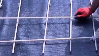 Как вязать арматуру стеклопластиковую для фундамента?(Стеклопластиковая арматура. Как вязать арматуру стеклопластиковую для фундамента?, 2014-07-03T17:12:24.000Z)