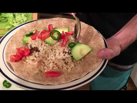 My Best Burrito Recipe With Rice & Beans