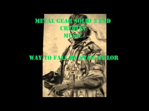 Metal Gear Solid 3 End Credits  Music Way To Fall By Starsailor