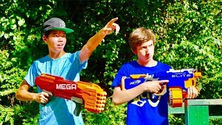 Nerf War: The Lottery Chase