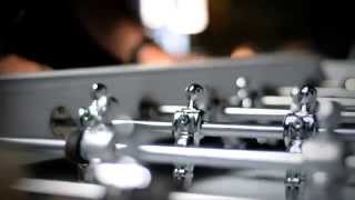 Bonzini Leather Foosball Table by Thailand Pool Tables