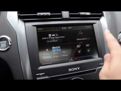 2013 Ford Fusion Review - MyFord Touch & Tech