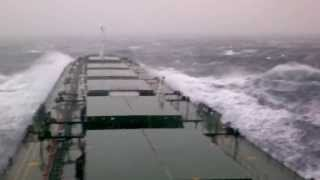 Storm, Pacific Ocean / Шторм, Тихий океан
