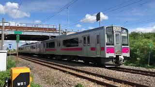 701系N7編成奥羽本線快速弘前行き3624M