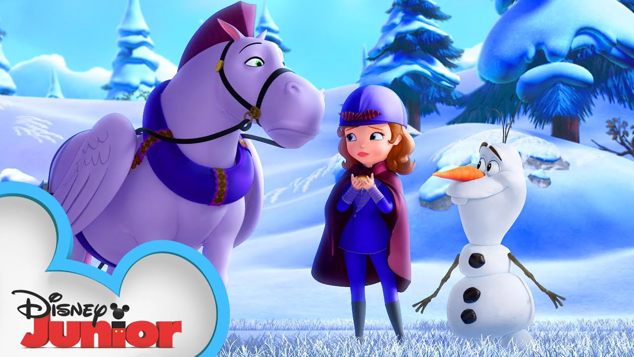 Olaf and Miss Nettle | Sofia the First | Disney Junior