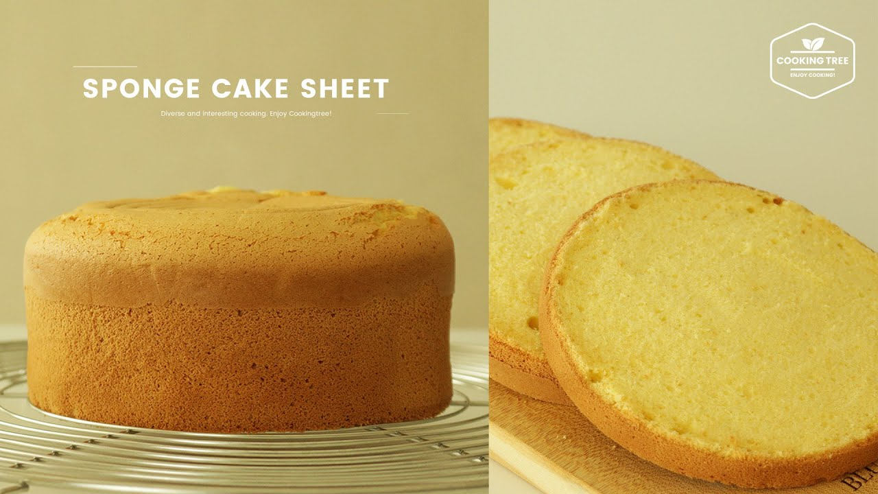 What Is A Basic Sponge Cake