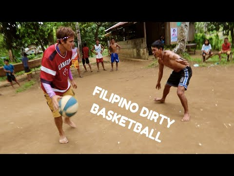 FOREIGNERS Experience FILIPINO Dirty Basketball!