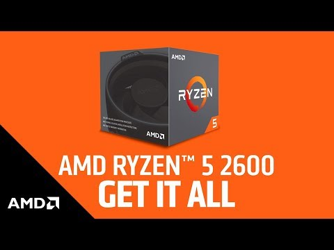 AMD Ryzen 5 2600 Gen2 6 Core AM4 CPU/Processor with Wraith Stealth Cooler
