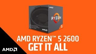 AMD Ryzen 5 2600 3.90ghz 6-core With Wraith Stealth BOX CPU