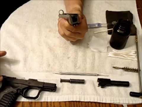 Springfield XDS XD Cleaning Video