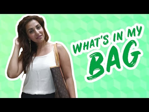 IWMBuzz :What's in my bag with Navina Bole