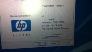 HP Pavilion ZD8180ea - Sold