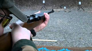 rick shoots the ruger 44 magnum semi auto carbine