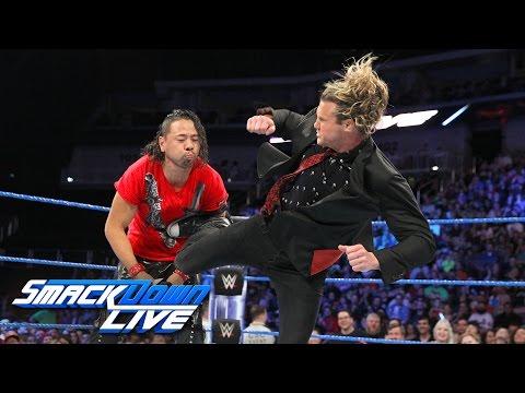 Dolph Ziggler crashes Shinsuke Nakamura's interview: SmackDown LIVE, April 25, 2017