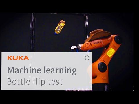 KUKA Robot Bottle Flip Challenge - Machine Learning in Practice