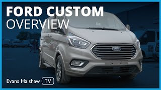 Ford Tourneo Custom - The 9 Seater Minibus
