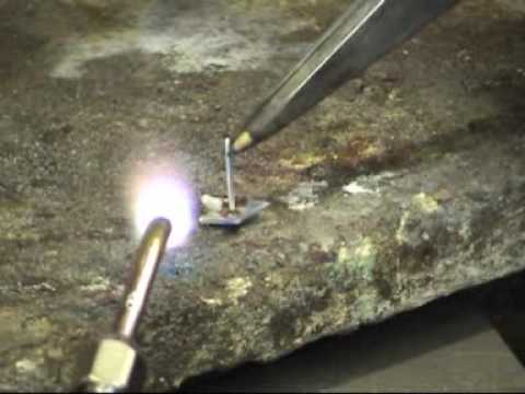 Silver Soldering By Andrew Berry Jewellery Repair Bench