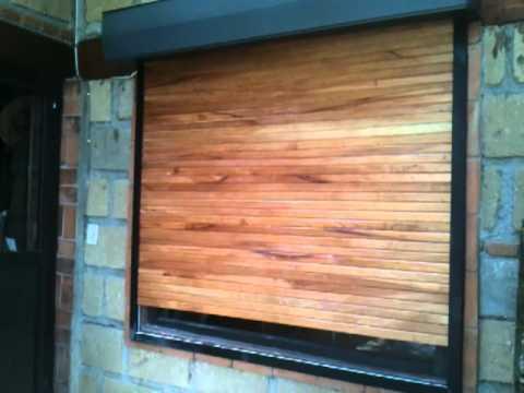 Persiana de madera youtube - Persiana veneciana madera ...