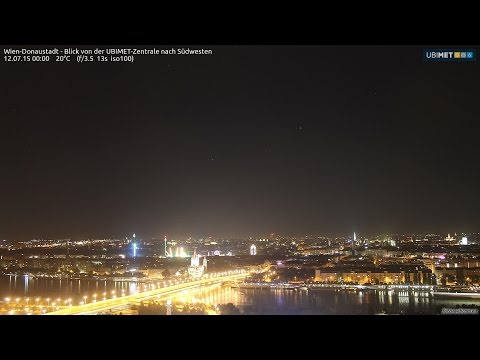 Weather Webcam Vienna: Time Lapse 1.3-30.6.2015 (SPRING)