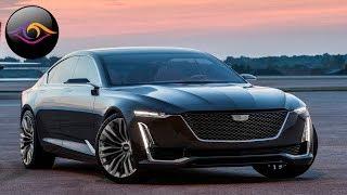 Cadillac Escala Concept - Концептуальный Лифтбек от Кадилак