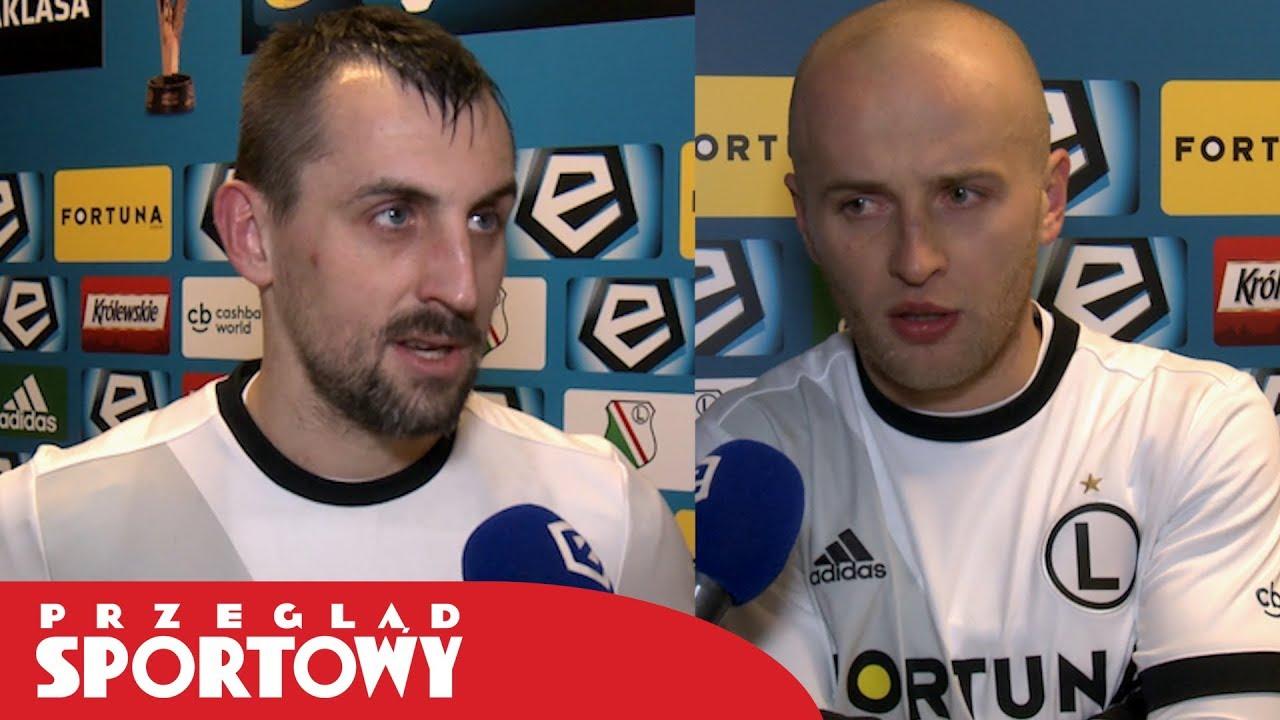 Kucharczyk i Pazdan po meczu Legia – Lech 2:1
