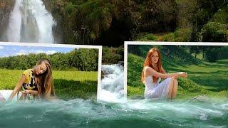 """Урок 18. Как вырезать фрагмент видео на youtube онлайн. Создание стиля """"Фотки плывущие по воде"""""""