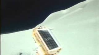 NASA Apollo 15 - EVA 2 - Rover run (16mm) part1