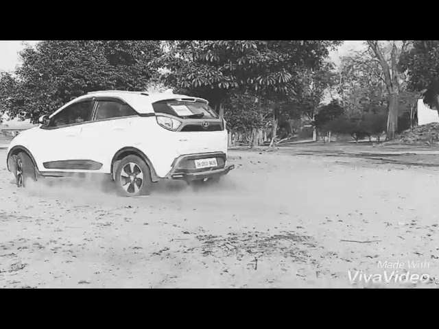 White Tata Nexon XZ+ top model