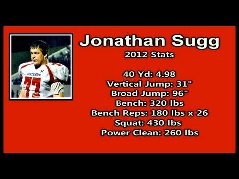 Jonathan Sugg - Class of 2014 - DE/C/LS - 2012 Highlights