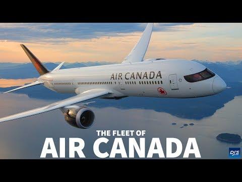 The Air Canada Fleet