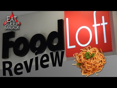 Central Chidlom FoodLoft - Bangkok food review.
