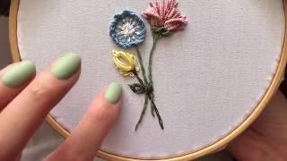 БРАЗИЛЬСКАЯ ВЫШИВКА// brazilian embroidery (ЧАСТЬ 3)