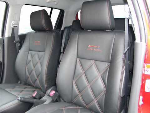 Bespoke Leather Interior For Suzuki Swift By The Seat