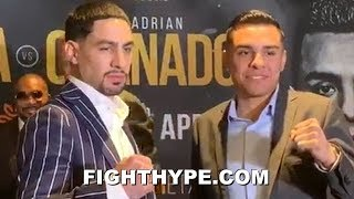 DANNY GARCIA VS. ADRIAN GRANADOS FULL COMEDIC PRESS CONFERENCE AND FIRST OFFICIAL FACE OFF