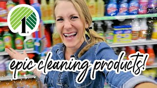 $1 DOLLAR TREE cleaning products no one is talking about! (5 star rated!)