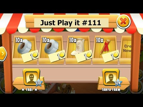 Just Play it #111 | Hay Day Game play
