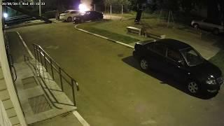 Поджог машины на Балтийской в Дядьково (Ярославль)